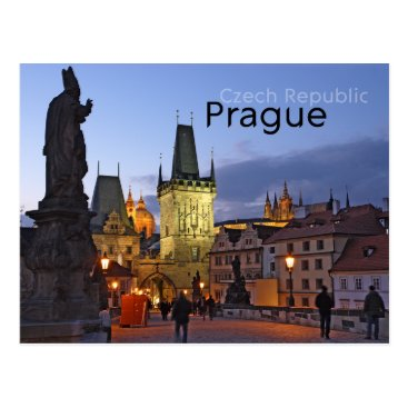 sumners Prague, Czech Republic Postcard