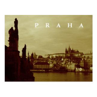 Prague, Czech Republic Post Card