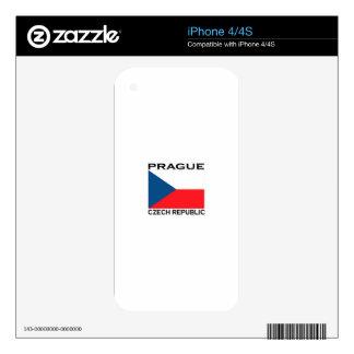 Prague Czech Republic iPhone 4S Skin