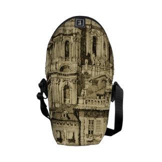 Prague Czech Republic St. Nicholas Church Messenger Bag