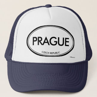 Prague, Czech Republic Trucker Hat