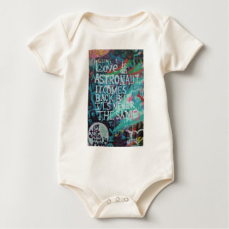 Prague Graffiti Baby Bodysuit