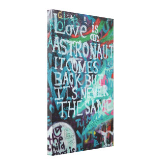 Prague Graffiti Canvas Print