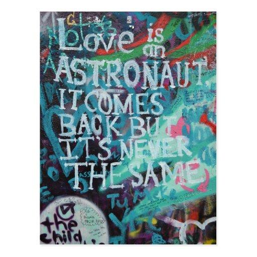 Prague Graffiti Postcards