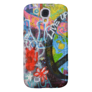Prague Graffiti Samsung Galaxy S4 Cover