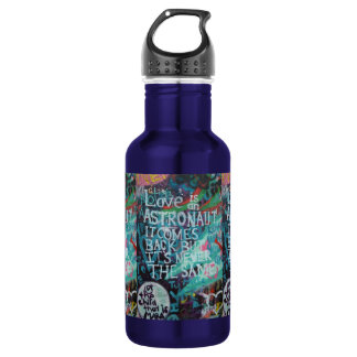 Prague Graffiti Stainless Steel Water Bottle