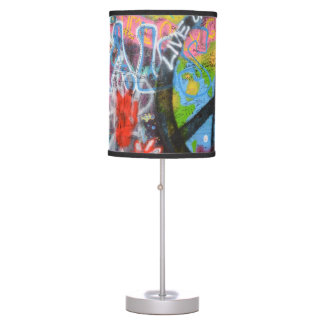 Prague Graffiti Table Lamp