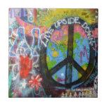 """Prague Graffiti Tile<br><div class=""""desc"""">The Lennon Wall in Prague</div>"""