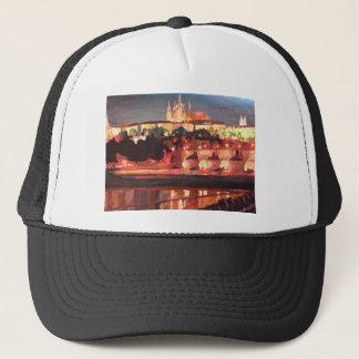 Prague - Hradschin with Charles Bridge Trucker Hat