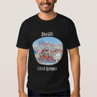 Prague in Pastel Men's Shirt