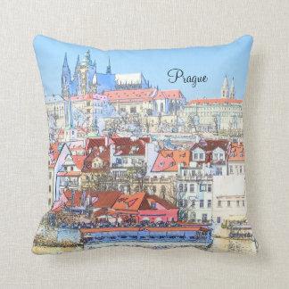Prague in Pastel Pillow