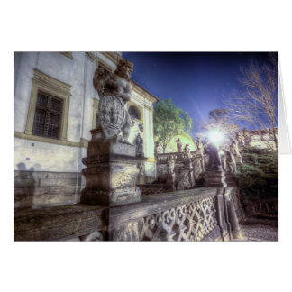 Prague - Loreta Angel at Night Card