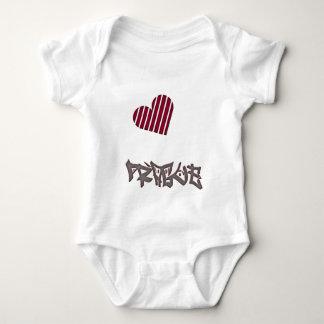 Prague Love Baby Bodysuit