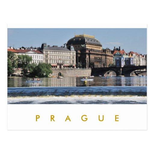 Prague – National Theatre Post Cards
