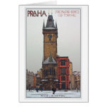 Prague - Old Town Hall Card