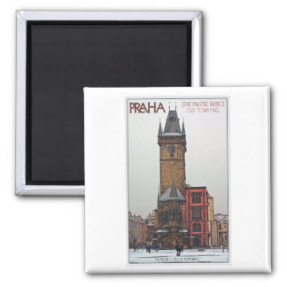 Prague - Old Town Hall Magnet