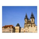 Prague Old Town in Czech Republic Postcard