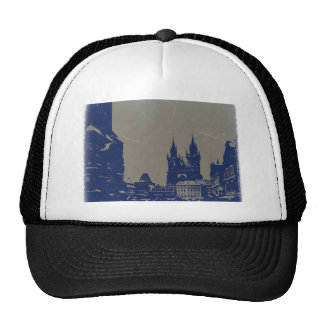 PRAGUE OLD TOWN SQUARE TRUCKER HAT