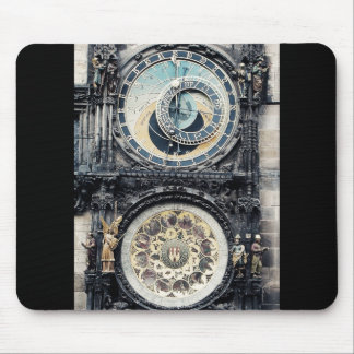 Prague Orloj Mouse Pad