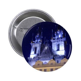 Prague Pinback Button