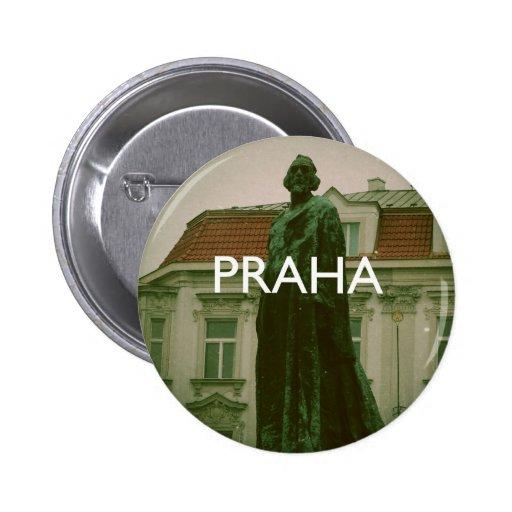 Prague - Praha 2 Inch Round Button