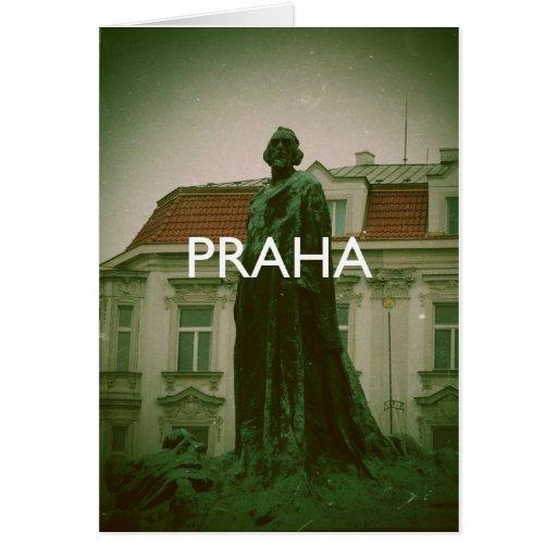 Prague - Praha Greeting Card