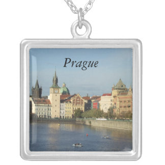 Prague Silver Pendant Necklace Jewelry