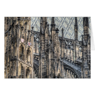 Prague - St. Vitus Cathedral Flying Buttress Card