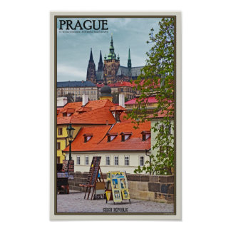 Prague - St Vitus Cathedral Poster
