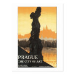 Prague The City of Art Postcards
