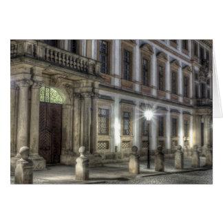 Prague - Toscansky Palace at Night Card