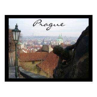 prague view post cards