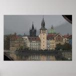 PRAGUE - Vltava River Poster