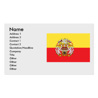 Prague with, Czech Double-Sided Standard Business Cards (Pack Of 100)
