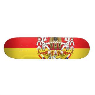 Prague with Czech Skate Board Deck