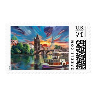 Prague's fairytale postage