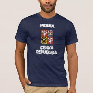 Praha, Ceska Republika with coat of arms T-Shirt