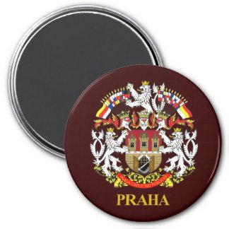 Praha (Prague) 3 Inch Round Magnet