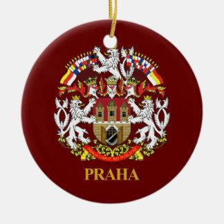 Praha (Prague) Ceramic Ornament