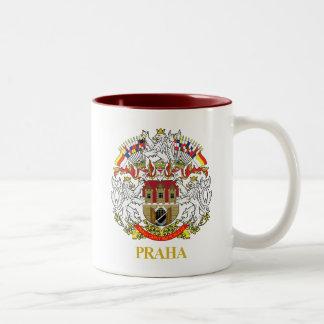 Praha (Prague) Two-Tone Coffee Mug