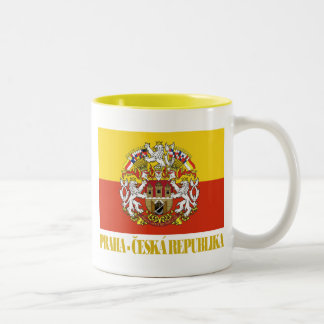 Praha (Prague) Two-Tone Coffee Mug