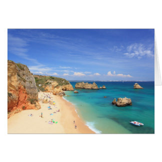 Praia da Dona Ana Greeting Card