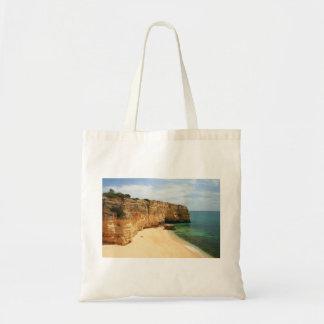 Praia da Marinha Tote Bag