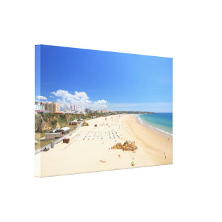 Praia da Rocha Canvas Print
