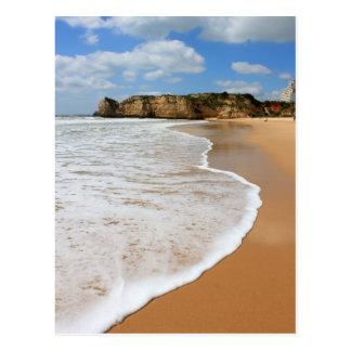 Praia DA Rocha, playa de Algarve en Portugal Tarjetas Postales