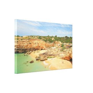 Praia de Albandeira Canvas Print