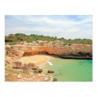 Praia de Albandeira Postcard