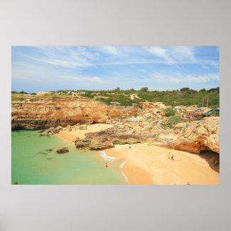 Praia de Albandeira Poster