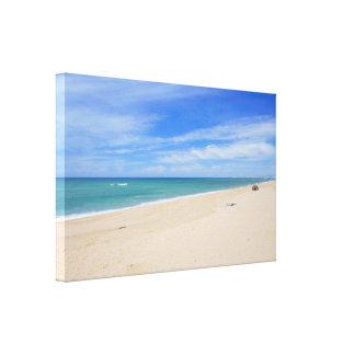 Praia de Faro Canvas Print