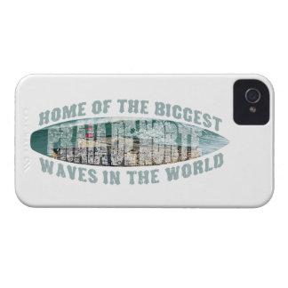 Praia de Norte Surfing iPhone 4 Cases